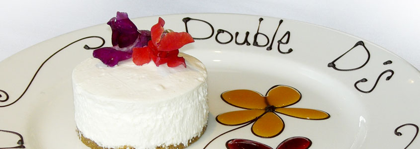 Double D's Cheesecakes are perfect for complimenting any meal.