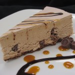 Rolo Cheesecake:  Chocolate, caramel with mini Rolos inside, topped with caramel and our homemade chocolate ganache.  $35.00