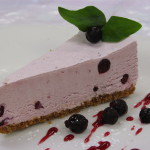 Saskatoon Berry Cheesecake - Made with locally grown saskatoons.  This cheeseckae is very refreshing.  $34.00